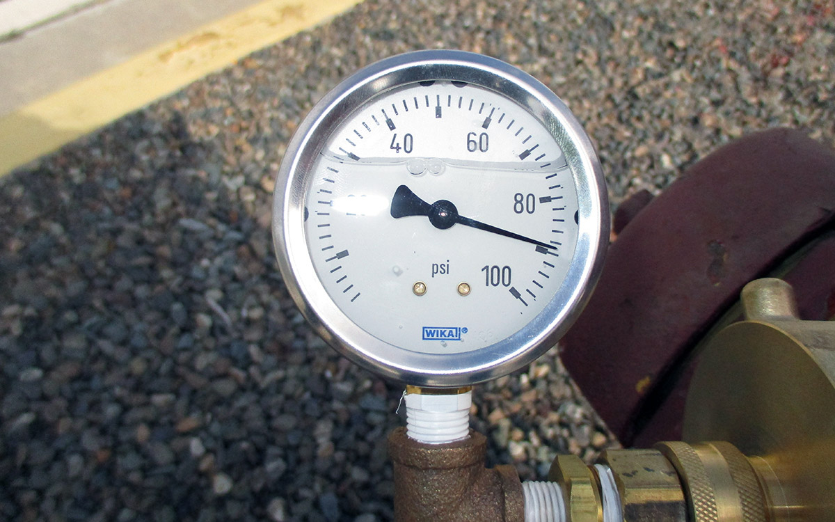 Keeping Your Emergency Systems in Top Shape pressure gauge